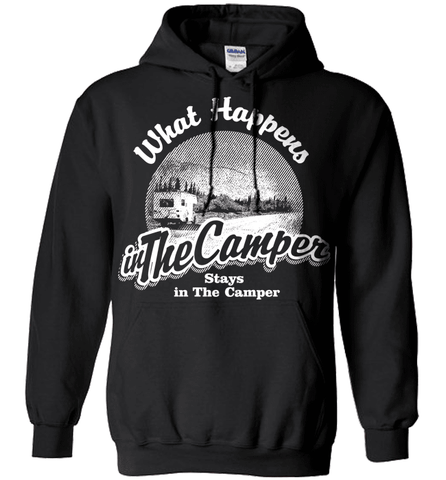 Camping Shirt - What Happens In The Camper Stays In The Camper