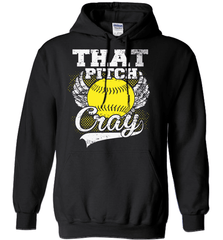 Softball Mom Shirt - That Pitch Cray - Shirt Loft - 1
