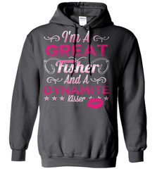 Fishing Shirt - I Am A Great Fisher And A Dynamite Kisser - Shirt Loft - 3