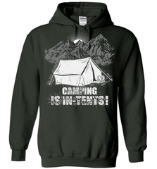 Camping Shirt - Camping Is In-Tents! - Shirt Loft - 3