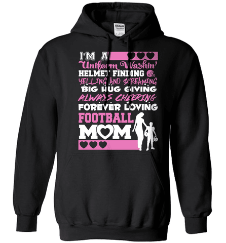 Football Mom Shirt - Rhyming Football Poem