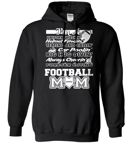 Football Mom Shirt - Football Poem