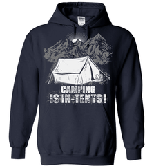 Camping Shirt - Camping Is In-Tents! - Shirt Loft - 4