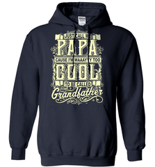 Grandpa Shirt - Just Call Me Papa Cause I'm Waaayyy Too Cool To Be Called Grandfather - Shirt Loft - 4