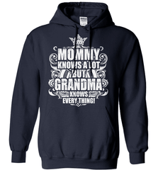 Grandma Shirt - Mommy Knows A Lot But Grandma Knows Everything! - Shirt Loft - 3