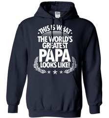 Grandpa Shirt - This Is What The World's Greatest Papa Looks Like! - Shirt Loft - 3