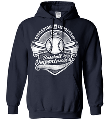 Baseball Mom Shirt - Education Is Important But Baseball Is Importanter - Shirt Loft - 3