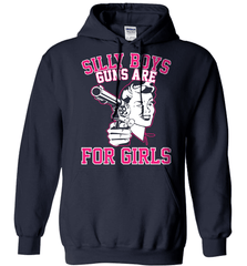 Gun Shirt - Silly Boys, Guns Are For Girls - Shirt Loft - 4
