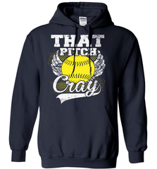 Softball Mom Shirt - That Pitch Cray - Shirt Loft - 2