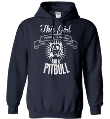 Pit Bull Shirt - This Girl Protected By The Good Lord And A Pit Bull - Shirt Loft - 3