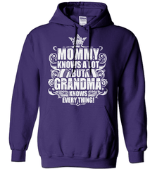 Grandma Shirt - Mommy Knows A Lot But Grandma Knows Everything! - Shirt Loft - 4