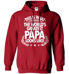 Grandpa Shirt - This Is What The World's Greatest Papa Looks Like! - Shirt Loft - 4