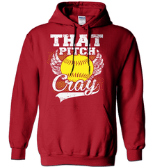 Softball Mom Shirt - That Pitch Cray - Shirt Loft - 3