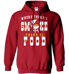 BBQ Shirt - Where There Is Smoke, There Is Food - Shirt Loft - 3