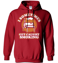 BBQ Shirt - I Sometimes Get Caught Smoking - Shirt Loft - 3