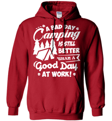 Camping Shirt - A Bad Day Camping Is Better Then A Good Day Working - Shirt Loft - 4