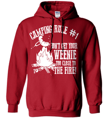 Camping Shirt - Camping Rule #1. Don't Get Your Weenie Too Close To The Fire! - Shirt Loft - 5