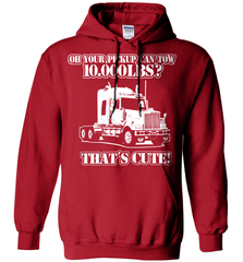 Trucker Shirt - Oh Your Pickup Can Tow 10.000 LBS? That's Cute - Shirt Loft - 4