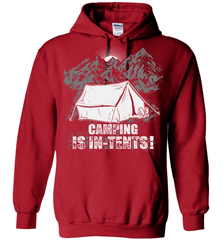Camping Shirt - Camping Is In-Tents! - Shirt Loft - 5