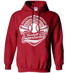 Baseball Mom Shirt - Education Is Important But Baseball Is Importanter - Shirt Loft - 4