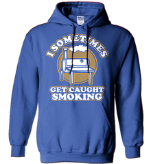 BBQ Shirt - I Sometimes Get Caught Smoking - Shirt Loft - 4