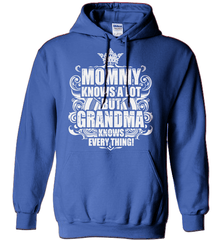 Grandma Shirt - Mommy Knows A Lot But Grandma Knows Everything! - Shirt Loft - 5