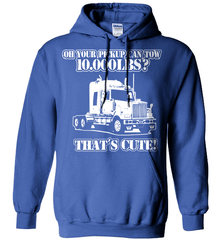Trucker Shirt - Oh Your Pickup Can Tow 10.000 LBS? That's Cute - Shirt Loft - 5
