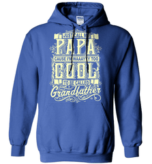 Grandpa Shirt - Just Call Me Papa Cause I'm Waaayyy Too Cool To Be Called Grandfather - Shirt Loft - 5