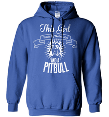 Pit Bull Shirt - This Girl Protected By The Good Lord And A Pit Bull - Shirt Loft - 5