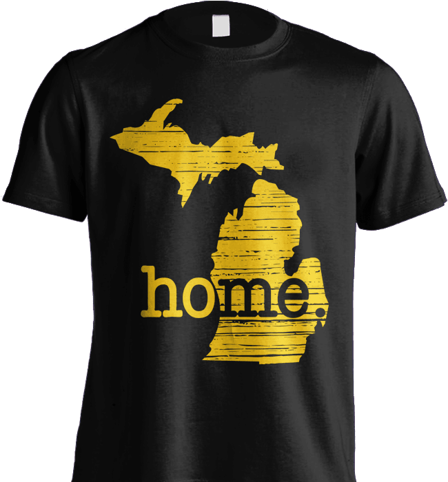 State Shirt - Michigan Home Shirt - Shirt Loft - 5