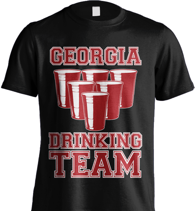 State Shirt - Georgia Drinking Team - Shirt Loft - 5