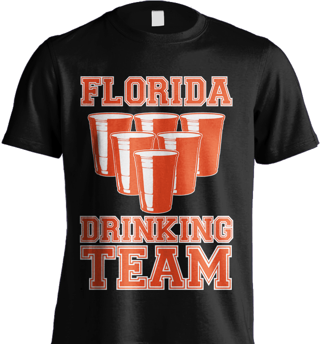 State Shirt - Florida Drinking Team - Shirt Loft - 5