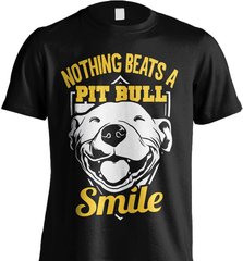 Pit Bull Shirt - Nothing Beats A Pit Bull Smile - Shirt Loft - 5