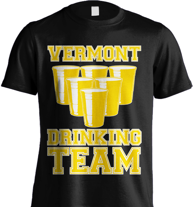 State Shirt - Vermont Drinking Team - Shirt Loft - 5