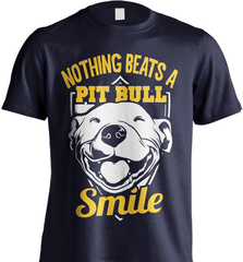Pit Bull Shirt - Nothing Beats A Pit Bull Smile - Shirt Loft - 6
