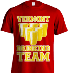 State Shirt - Vermont Drinking Team - Shirt Loft - 7