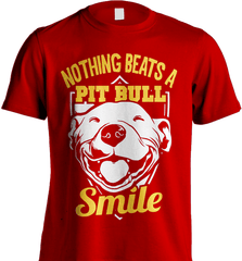 Pit Bull Shirt - Nothing Beats A Pit Bull Smile - Shirt Loft - 7