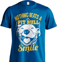 Pit Bull Shirt - Nothing Beats A Pit Bull Smile - Shirt Loft - 8