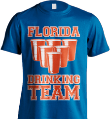 State Shirt - Florida Drinking Team - Shirt Loft - 8