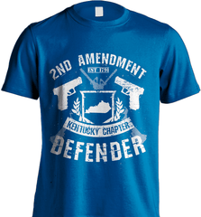 Gun Shirt - 2nd Amendment Kentucky Chapter Defender - Shirt Loft - 8