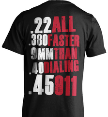 Gun Shirt - All Faster Than 911 - Shirt Loft - 2