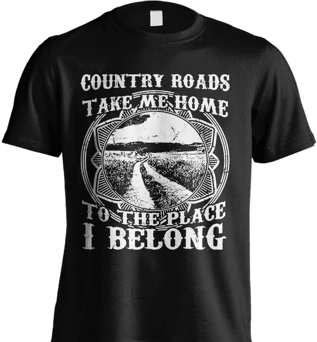 Farmer Shirt - Country Roads Take Me Home - Shirt Loft - 2