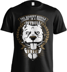 Pit Bull Shirt - The Biggest Muscle Is The Heart - Shirt Loft - 2
