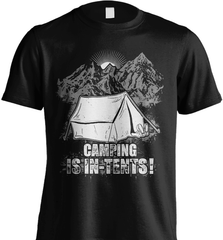Camping Shirt - Camping Is In-Tents! - Shirt Loft - 2