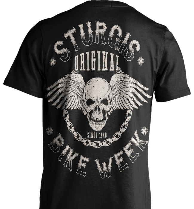 Biker Shirt - Sturgis. Original Bike Week - Shirt Loft - 2