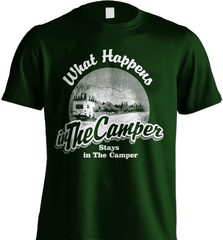 Camping Shirt - What Happens In The Camper Stays In The Camper - Shirt Loft - 6