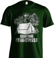 Camping Shirt - Camping Is In-Tents! - Shirt Loft - 6