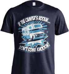 Camping Shirt - If The Camper Is Rockin Don't Come Knockin - Shirt Loft - 6