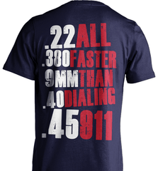Gun Shirt - All Faster Than 911 - Shirt Loft - 5