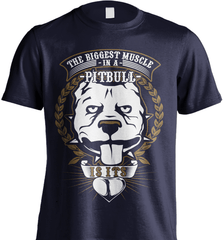 Pit Bull Shirt - The Biggest Muscle Is The Heart - Shirt Loft - 6